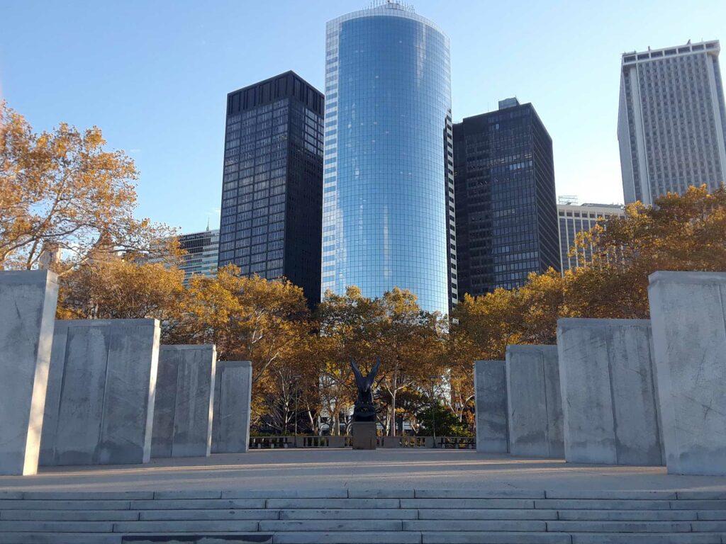 At the East Coast Memorial