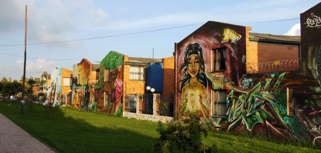 One of Bogotá's most amazing mural galleries